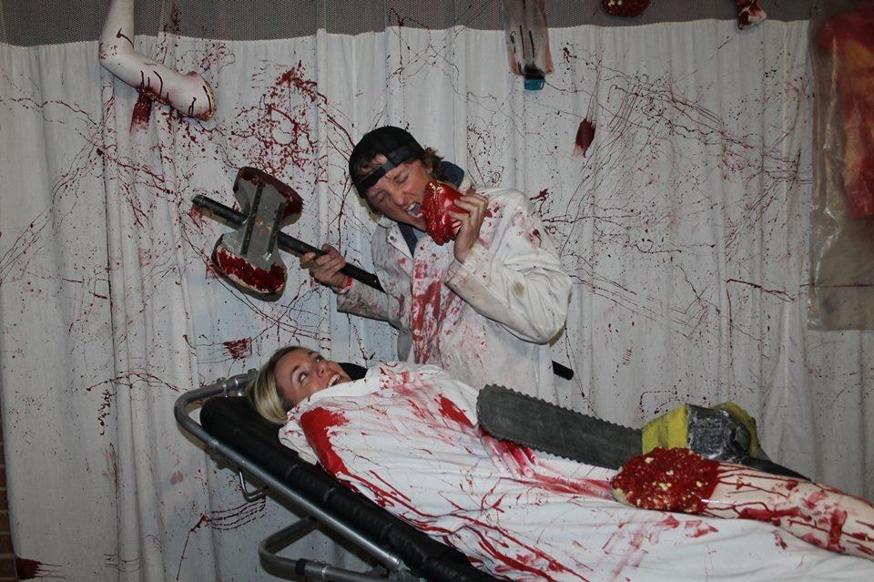 Haunted Hospital Halloween Attraction