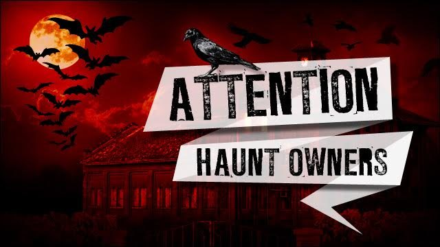 Attention Utah Haunt Owners
